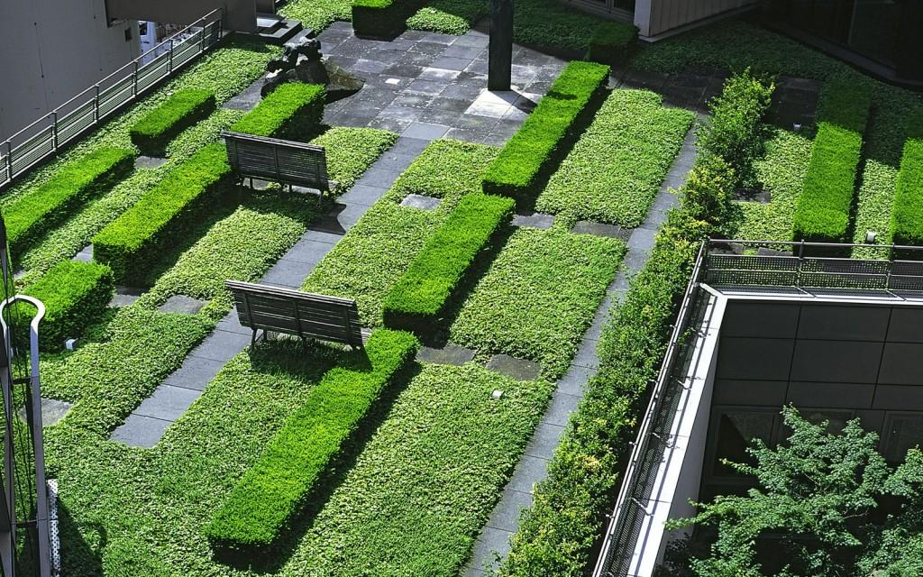 Le pamphlet les installations ext rieures et jardin sur for Jardin sur le toit