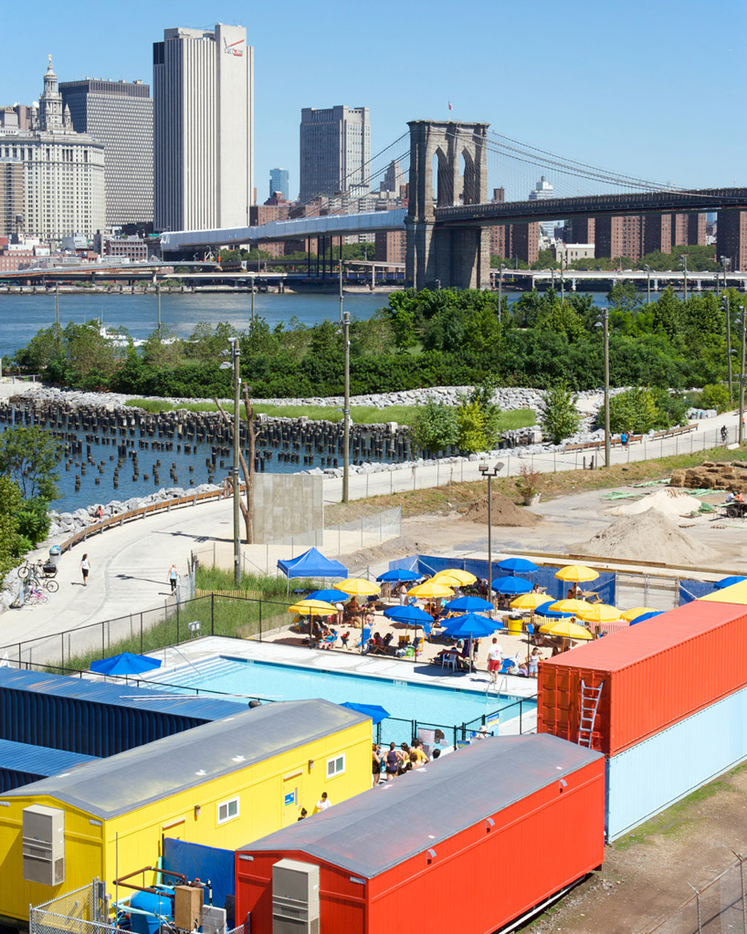 Le Pamphlet Brooklyn Bridge Pop Up Pool