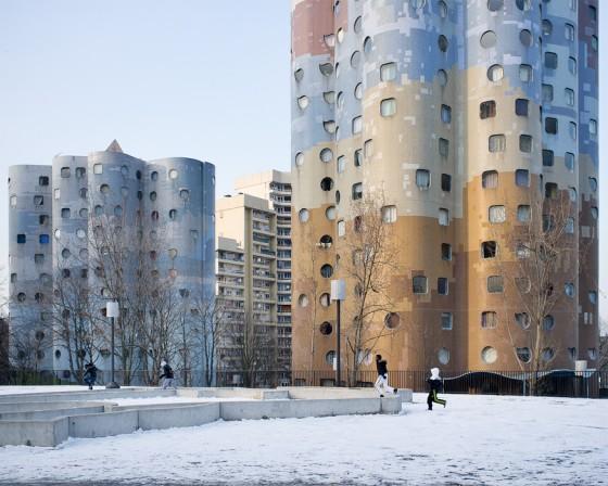 Les Tours Aillaud (tours nuages) - Cité Pablo Picasso, Nanterre