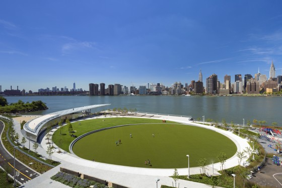 Hunters Point Park, Phase 1