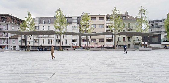 Localarchitecture .  The New Market Square Cover . Renens (3)