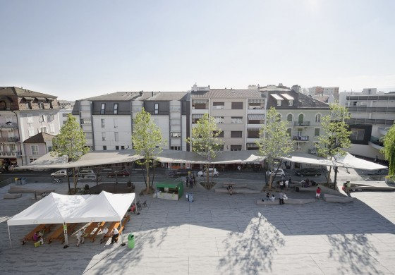 Localarchitecture .  The New Market Square Cover . Renens (4)