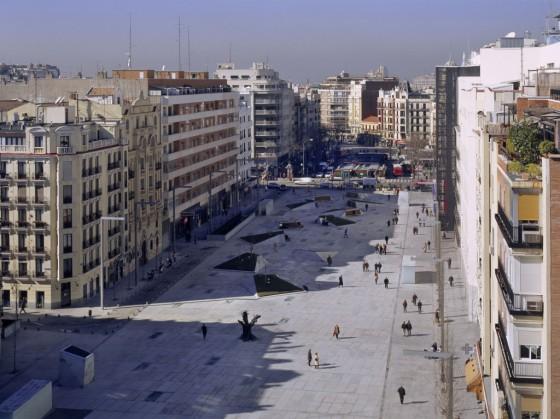 Projekt: Plaza Dalí, Madrid Architekt: Mangado