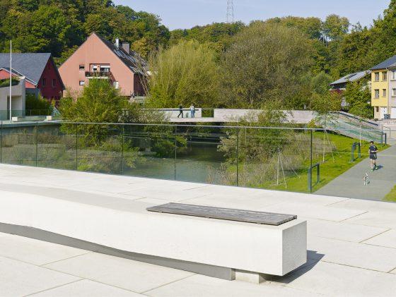 Neues Zentrum Hesperange, Luxemburg